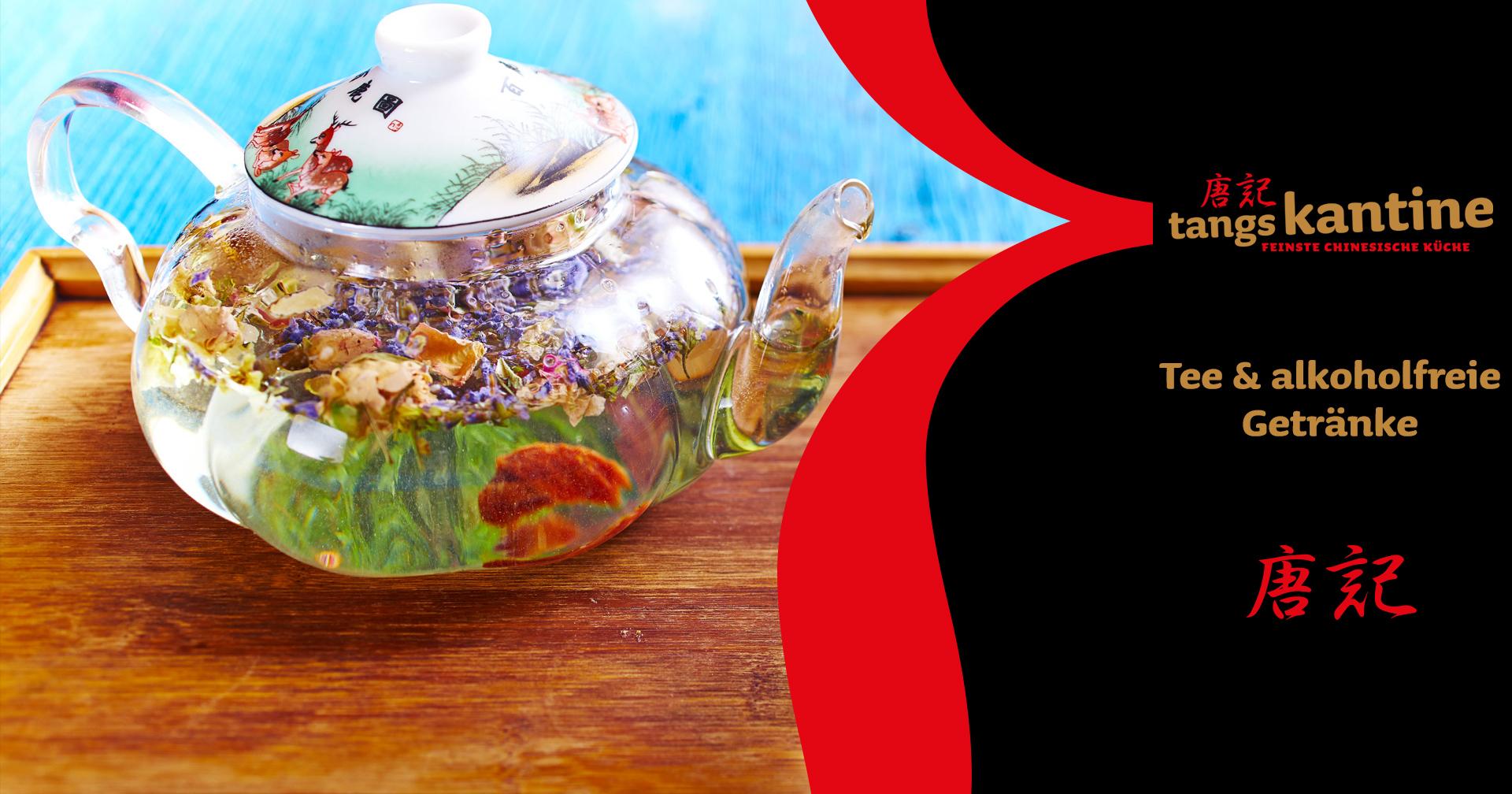 tangs kantine • Tee & alkoholfreie Getränke